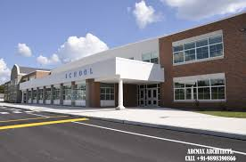 Architectural Design Of School Buildings High School Building Architecture Design And Planning