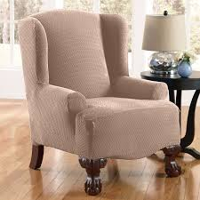 lazy boy recliner covers with wing chair slipcover for wingback chair covers and side table also table lamp with wood flooring and french doors for living