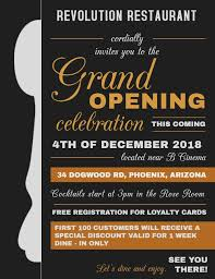 Free Grand Opening Flyer Template Restaurant Small Business Grand Opening Flyer Design Template
