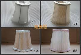 mini lamp shade chandelier lamp covers colorful wall lampshade diy clip on