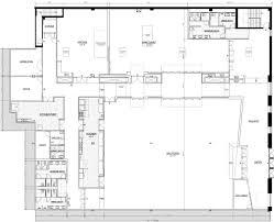 Modern Style Kitchen Floor Plans Professional Kitchen Floor Plan