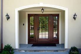 front door with sidelightsContemporary Entry Door With Sidelights  John Robinson House