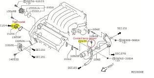 p0125 2004 nissan maxima engine coolant temperature sensor need more help