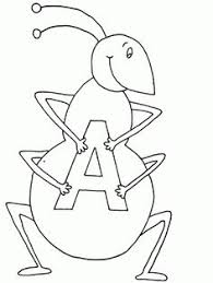 Small Picture Ant coloring page Download Free Ant coloring page for kids