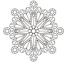 Mandala Di Cuori Mandala Per Bambini Con Mandala Animali Da Colorare