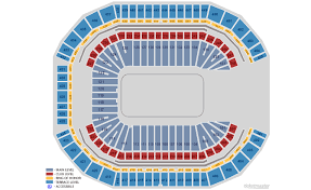 Farm Show Large Arena Seating Chart State Farm Arena Seating Chart State Farm Arena Tickets And