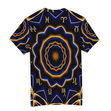 Amazon Shirt Size Chart India Wihve India Mandala Constellation Mens Crew Neck Short