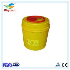 sharp disposal. medical round sharp container,round sharps disposal container 0