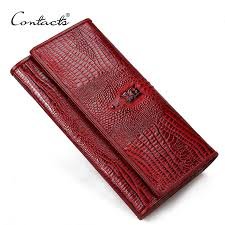 guarantee genuine leather las women wallets purse long alligator wallet women elegant female women s wallets leather wallet