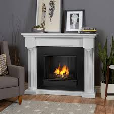 image of a console gel fireplace insert