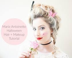 marie antoinette hair makeup tutorial