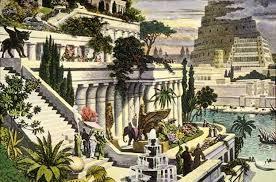 Вавилон Висячие сады Семирамиды Фото Чудо света Доклад Реферат  сады Вавилона