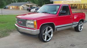 All Chevy 94 chevy stepside : 92 GMC Sierra Stepside on 24s (Project) - YouTube