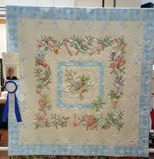 2017 Folsom Quilt and Fiber Guild Show-The Big Quilt Room | Quilt ... & Nancy used a Crabapple Hill design plus coloring, embroidery and piecing to  create this sweet quilt. Adamdwight.com