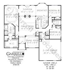 ham c house plan 02236 1st floor plan