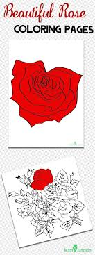 Here Are Some Rose Coloring Pages