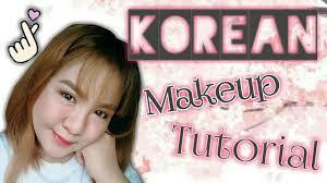korean makeup tutorial grant lips dewy skin natural straight brows drunk blush all makeup videos