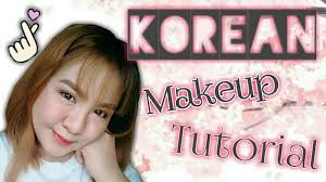 korean makeup tutorial grant lips dewy skin natural straight brows drunk blush all makeup videos