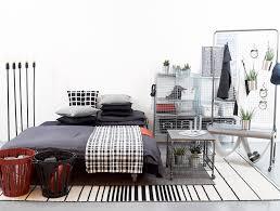 ideas for ikea furniture. Monochrome Bedroom With Industrial Flare Ideas For Ikea Furniture