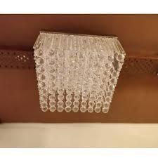 square chandelier light