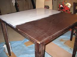 Refinish Kitchen Table Top Refinishing Kitchen Table Top Home Interiors Easy Refinishing