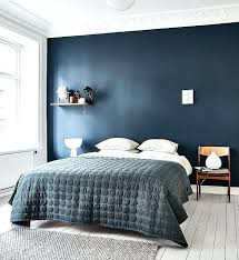 Blue Bedroom Walls What Color Bedding Bedroom With Dark Blue Wall