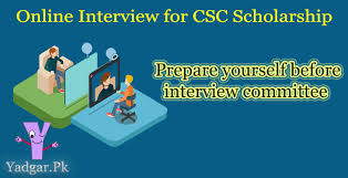 Scholarship Interview Questions Update Interview Questions For Csc Scholarship China