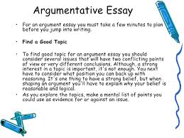 argumentative essay writing co lecture 7 argumentative essay