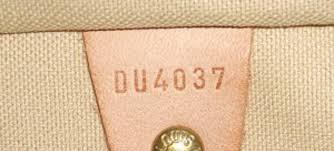 Louis Vuitton Date Code Interpretation Lake Diary