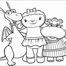 Free Printable Doc Mcstuffins Coloring Pages And Activity Sheets