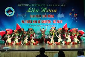 Liên hoan Giai điệu tuổi hồng và Thiếu nhi kể chuyện tỉnh Hưng Yên hè 2019 -