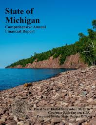 state budget office comprehensive annual financial report cafr fy 2016 cover