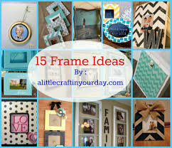 6/30 | 14 Photo Frame Ideas