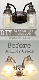 vanity lighting. Mason Jar Vanity Lighting. Lighting
