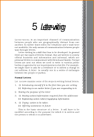 Letter Writing Format In English Images Letter Samples Format