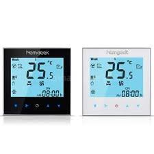 ac thermostat. homgeek 110v smart air conditioner 2-pipe wifi thermostat black/white new k1z1 ac