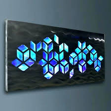 led wall art home decor uk
