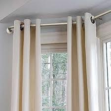 inspirating of bay window curtain rods ikea function best 25 corner rod ideas on photos
