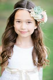 Hairstyle Suggestions 21 super cute flower girl hairstyle suggestions to make decor 3436 by stevesalt.us