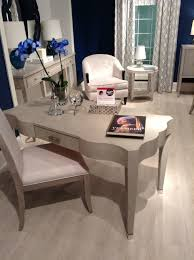 office table design trends writing table. The Criteria Desk By Bernhardt. New Feminine Trend Can Be Seen In Soft Ruffled Edges Of And Sleek Leg. Embossed Snake Skin Adds A Office Table Design Trends Writing