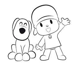 Small Picture Dibujos de Pocoyo para colorear e imprimir Pocoy para pintar gratis