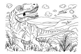 Dinosaur Coloring Pages Create Photo Gallery On Cartoon Coloring