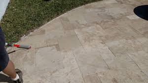 how to clean travertine pavers paver house blog
