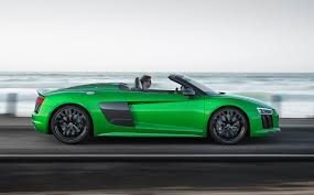 Richard Porter reviews the 2017 Audi R8 Spyder V10 Plus