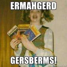 ERMAHGERD....THE GIRL IN THE MEME IS A LERSBERN on a separate line ... via Relatably.com