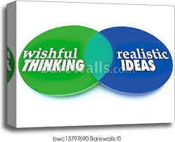 Mlk Vs Malcolm X Venn Diagram Wishful Thinking Realistic Ideas Venn Diagram Canvas Print
