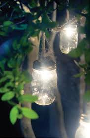 diy outdoor party lighting. mason jars are a great way to add your outdoor lighting scheme wrap wire around the jar ensuring make ample support on bottom of each and diy party