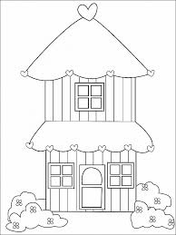 41 Free Printable Christmas Gingerbread House Coloring Pages