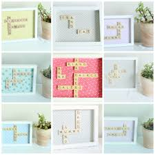 Scrabble Wall Tiles 39 Scrabble Names Wall Art Note This Post Contains Affiliate