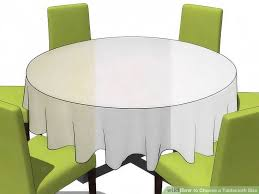 image titled choose a tablecloth size step 8